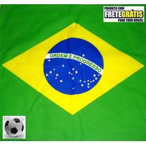 Frete Grátis! Bandana Lenço Brasil Copa 2014 World Cup Fifa!