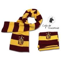 Cachecol Do Filme Harry Potter Casa Grifinória / Griffyndor