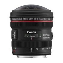 Canon Lente Ef 8-15mm F/ 4l Fisheye Usm Frete Grátis