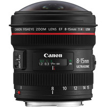 Canon Ef 8-15mm F/4.0l Usm Wide Fisheye Zoom Lens -