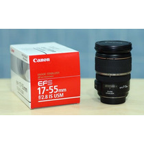 Lente Canon Ef-s 17-55mm F/2.8 Is Usm Mercadolider Platinum