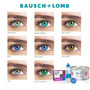 Lente De Contato Star Colors 2 Kit Bausch Lomb + Renu + Lata
