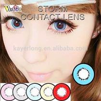 Olhos Cosplay - Circle Lens Azul 18mm - Pronta Entrega !!