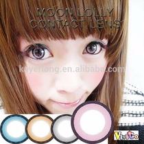 Olhos Cosplay- Circle Lens Lolly Pink 18mm-pronta Entrega !!