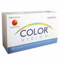 Lentes De Contato Color Vision - Cor Azul (sem Grau)