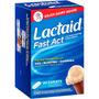 Lactaid Fast Act 72 Capsulas Lactase Intolerância Lactose