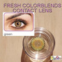 Olhos Cosplay - Lens Verde Natural- Pronta Entrega