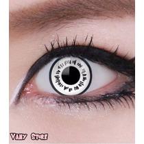 Olhos Cosplay - Lens Branca Byakugan Naruto - Pronta Entrega