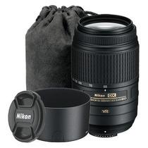 Lente Nikon Af-s Dx Nikkor 55-300mm F/4.5 - 5.6g Ed Vr Zoom
