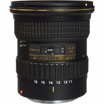 Obj. Tokina 11-16mm 2.8 Dx2 ( Dx Il) P/ Canon E Nikon