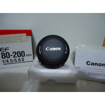 Lente Canon Ef 80-200mm Seminova Sem Uso - By Trekus Vintage