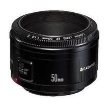 Lente Objetiva Canon Ef 50mm F/ 1.8 Ii T3i T4i 60d 7d 5d