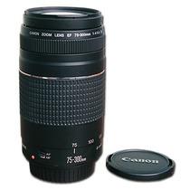 Lente Canon Ef 75-300mm F/4-5.6 Iii Original E Nova Na Caixa
