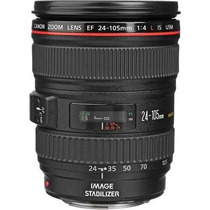 Lente Canon Ef 24-105 F/4l Is Usm Ultrasonic Pronta Entrega