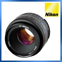 Lente Nikon 50mm F/1.8 D Af Nikkor Original, Nova E Na Caixa