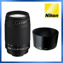 Lente Nikon Af Zoom Nikkor 70-300mm F/4-5.6 + Parasol Nikon
