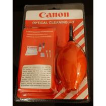 Kit De Limpeza De Cameras E Lente Canon 7 Em 1