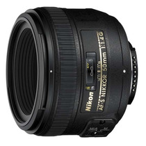 Lente Nikon 50mm F/1.4g Af-s Nikkor