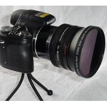 Kit Angulação Sony Hx1 (tubo + Lente Grande Angular + Macro)