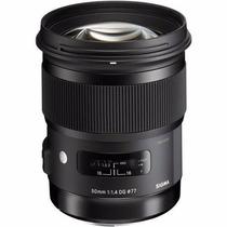Lente Sigma 50mm F/1.4 Dg Hsm Série Art Nikon 12x Sem Juros