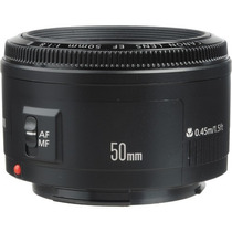 Lente Canon Normal Ef Autofoco 50mm F/1.8 Ii +nfe +garantia