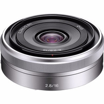Lente Sony 16mm F/2.8 E-mount Nex Grande Angular Hasselblad