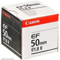 Lente Canon Ef 50mm F/1.8 Ii Para Câmeras Digitais Eos F1.8.