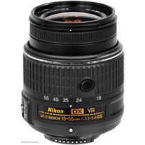 Lente Nikon Dx 18-55mm F/3.5-5.6 Af-s Vr Il Dx Nikkor Sp