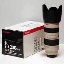 Lente Canon Nova 70-200mm F/2.8 Usm Em Sp Merclider Platinum