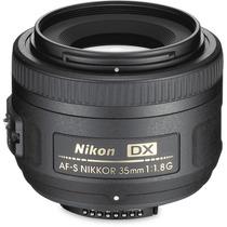 Lente Nikon Af-s Dx Nikkor 35mm F/1.8g Dsrl Autofoco F1.8