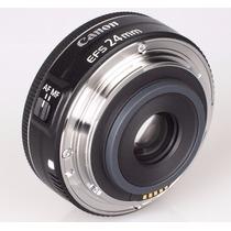 Lente Canon Ef-s 24mm F/2.8 Stm Wide Angle - Frete Gratis