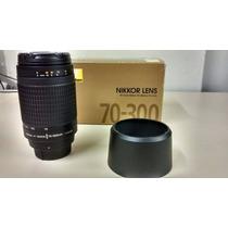 Lente Nikon 70-300 F/4-5.6g - Nova Na Caixa