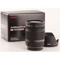 Lente Sigma Nikon 18-250mm Dc Macro Os Hsm *mercadoplatinum*