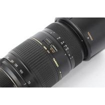Lente Tamron 70-300mm F/4-5.6 Di Ld P/ Nikon Semi Nova + Uv