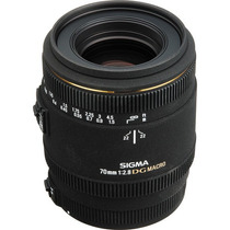 Lente Sigma Nikon 70mm F/2.8 Ex Dg Macro