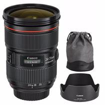 Lente Canon Ef 24-70 Mm F/2.8 L Ii Usm Garantia 1 Ano + Nf
