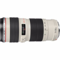 Lente Canon Ef 70-200mm F/4l Usm Garantia Canon Brasil + Nf