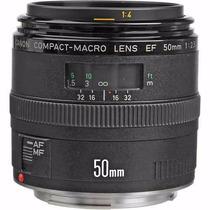 Canon Ef 50mm F/2.5 Compact- Macro Pronta Entrega