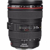 Lente Canon Ef 24-105mm F/4l Is Usm Frete Gratis P. Entrega