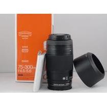 Lente Sony Sal 75-300mm F/4.5-5.6 Af D Zoom Nova Lacrada