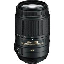 Lente Nikon Af-s 55-300mm F/4.5-5.6g Ed Vr + Filtro Uv