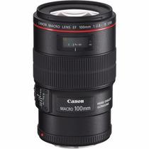 Lente Canon Ef 100mm F/2.8l Macro Is Usm (canon Série L)