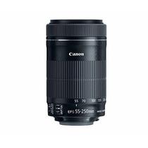 Lente Canon Ef-s 55-250 Is Stm - Pronta Entrega Grátis Poa