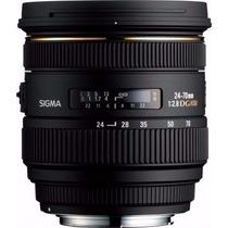 Lente Sigma 24-70mm F2.8 - Canon Ou Nikon Frete Gratis Sedex