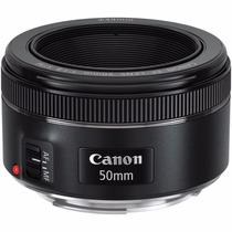 Lente Canon Ef 50mm F/1.8 Ii (excelente Lente P/ Retratos)