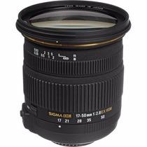 Sigma 17-50mm F2.8 Ex Dc Os P/ Nikon Pronta Entrega Envio Im