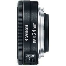 Lente Canon Ef-s 24mm F/2.8 Stm Wide Angle - Frete Gratis .