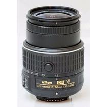 Lente Nikon Af-s 18-55mm F/3.5-5.6g Vr Ii + Filtro Uv