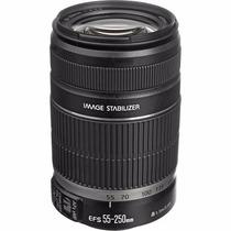 Lente Canon Ef-s 55-250mm F/4-5.6 Is Ii Pronta Entrega +nfe