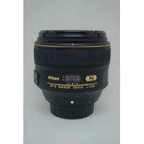 Lente / Objetiva Nikon - Nikkor 58mm 1.4 G